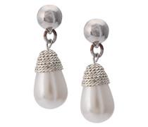 Hängeohrringe mit Perle