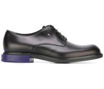 Derby-Schuhe mit Kontrastabsatz