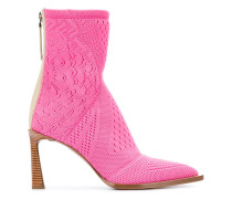 FFrame jacquard ankle boots
