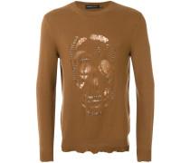 Pullover mit Totenkopf-Motiv