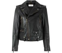 lightning bolt biker jacket