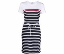 striped organic cotton T-shirt dress