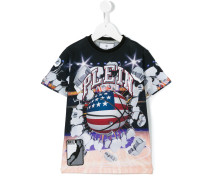 - printed T-shirt - kids - Baumwolle - 6 J.