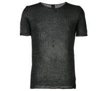 Gestricktes T-Shirt - men - Baumwolle/Polyamid