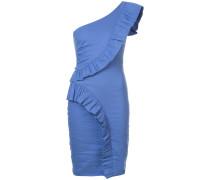 Einschultriges Kleid mit hautenger Passform