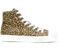 leopard print hi-tops
