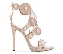 pearl-embellished sandals