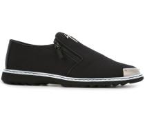 Slip-On-Sneakers mit Reißverschluss