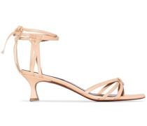 Sandalen mit Knöchelriemen, 50mm