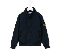 Jacke mit Logo-Patch - kids