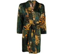 Kimono mit Tiger-Print
