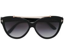Cat-Eye-Sonnenbrille mit Metalldetails