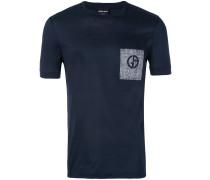 T-Shirt mit Logo-Stickerei - men