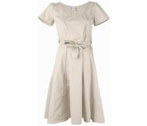 - Kleid mit Gürtel - women - Baumwolle - 42
