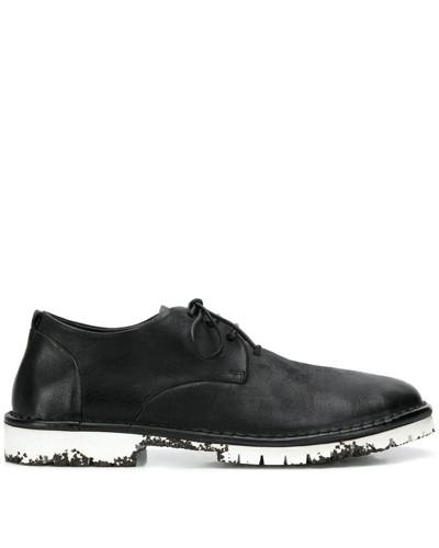 Oxford-Schuhe in Distressed-Optik