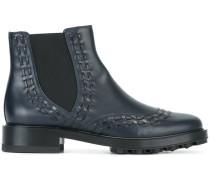 Chelsea-Boots mit Ziernähten