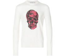 Skull-print sweater
