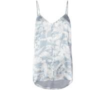 satin floral camisole - women - Seide - M