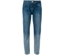 colour contrast jeans