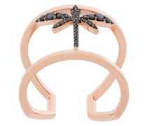 Mini Ring mit Libellenmotiv