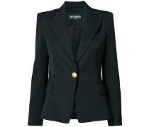 tailored slim-fit jacket