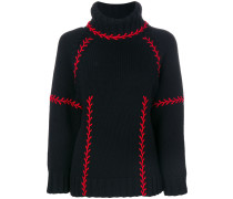 chunky turtle neck jumper