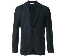 checked classic blazer