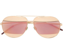 'Dior Split' Sonnenbrille - women - Metall