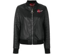 heart bomber jacket