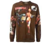 Sweatshirt mit Heavy-Metal-Print