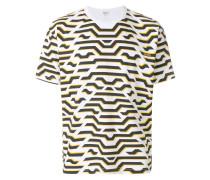 The Memento Collection tiger stripe print T-shirt