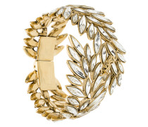 leaves embellished cuff