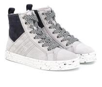 'H' High-Top-Sneakers
