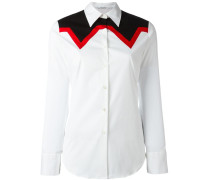 Hemd mit Einsätzen - women - Baumwolle - L