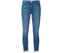 skinny crop jeans - women