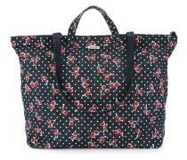 Handtasche mit Kirsch-Print