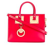 Handtasche mit goldfarbenen Beschlägen - women
