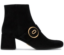 Buttoned Ankle Boots