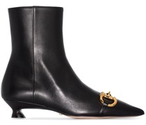Horsebit ankle boots