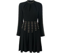 A-Linien-Kleid mit Nieten