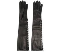 Handschuhe mit Schnürung