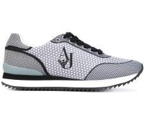 - Gepunktete Sneakers - women - Polyester/rubber