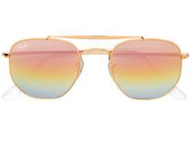 hexagon rainbow tinted sunglasses