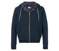 Maglia zipped hoodie