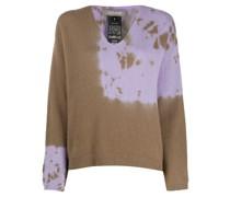 tie-dye print jumper