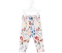 Leggings mit floralem Print
