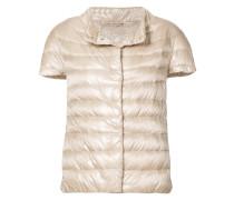 short sleeve padded jacket