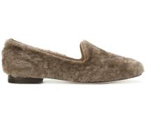 Loafer mit Kaninchenpelz