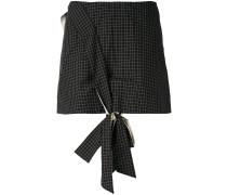 Minirock mit Knotendetail