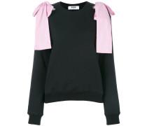Sweatshirt mit Schleifendetails
